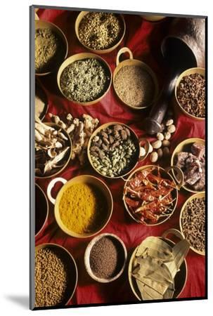Still Life with Exotic Spices-Frederic Vasseur-Mounted Premium Photographic Print