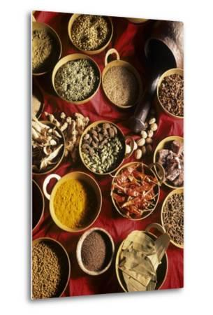 Still Life with Exotic Spices-Frederic Vasseur-Metal Print