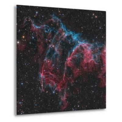 Ngc 6995, the Bat Nebula-Stocktrek Images-Metal Print