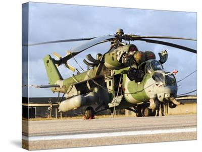 A Brazilian Air Force Ah-2 Sabre Helicopter-Stocktrek Images-Stretched Canvas Print