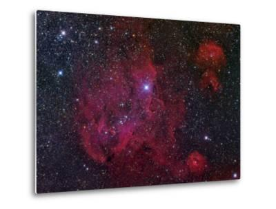 Ic 2944, the Running Chicken Nebula-Stocktrek Images-Metal Print