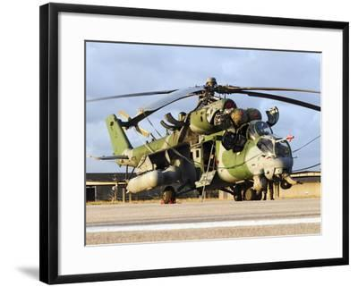 A Brazilian Air Force Ah-2 Sabre Helicopter-Stocktrek Images-Framed Photographic Print