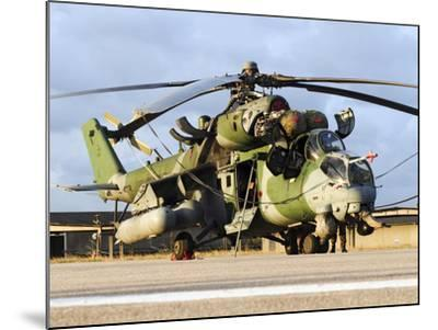 A Brazilian Air Force Ah-2 Sabre Helicopter-Stocktrek Images-Mounted Photographic Print
