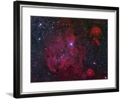 Ic 2944, the Running Chicken Nebula-Stocktrek Images-Framed Photographic Print