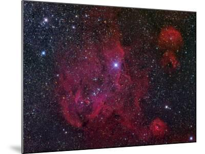 Ic 2944, the Running Chicken Nebula-Stocktrek Images-Mounted Photographic Print