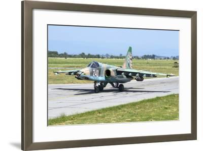 Bulgarian Air Force Sukhoi Su-25K Aircraft-Stocktrek Images-Framed Photographic Print