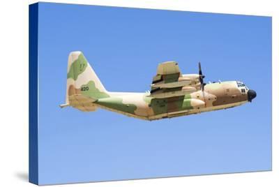 Israeli Air Force C-130 Karnaf Taking Off-Stocktrek Images-Stretched Canvas Print