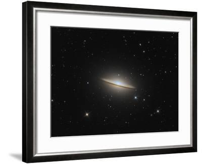The Sombrero Galaxy-Stocktrek Images-Framed Photographic Print