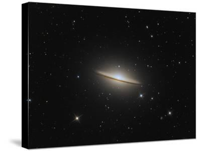 The Sombrero Galaxy-Stocktrek Images-Stretched Canvas Print