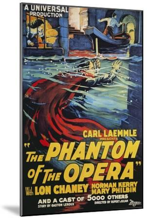 The Phantom of the Opera Movie Lon Chaney 1925--Mounted Art Print