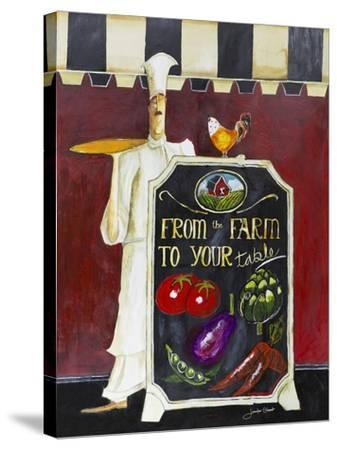 Farm to Table-Jennifer Garant-Stretched Canvas Print