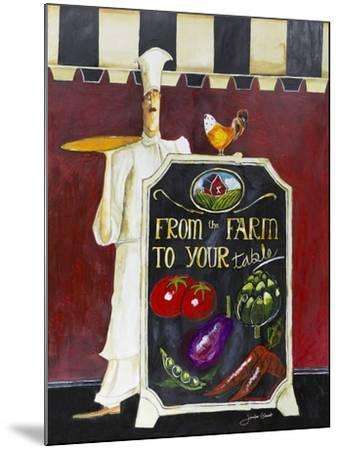 Farm to Table-Jennifer Garant-Mounted Giclee Print