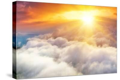 Sunset-denis_333-Stretched Canvas Print