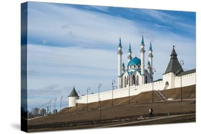 Kazan Kremlin, View of the Kul-Sharif Mosque- gospodin_mj-Stretched Canvas Print