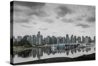 Teary Skies over Vancouver-Latitude 59 LLP-Stretched Canvas Print