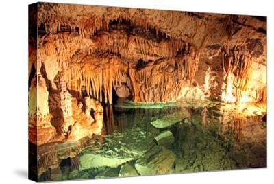 Demanovska Cave of Liberty, Slovakia-jarino47-Stretched Canvas Print