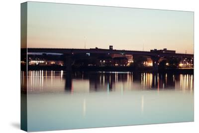 Bridge in Peoria-benkrut-Stretched Canvas Print