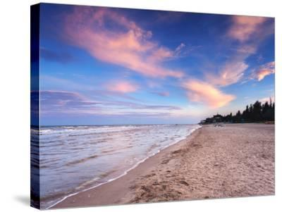 Beautiful Summer Sunset at the Sea-denbelitsky-Stretched Canvas Print