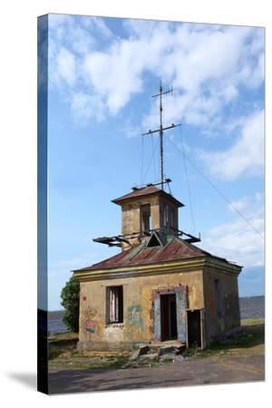 Abandoned Lighthouse-mrivserg-Stretched Canvas Print