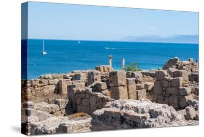 Archaeological Site-caruso christian-Stretched Canvas Print