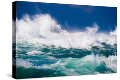 Powerful Ocean Wave-michaeljung-Stretched Canvas Print