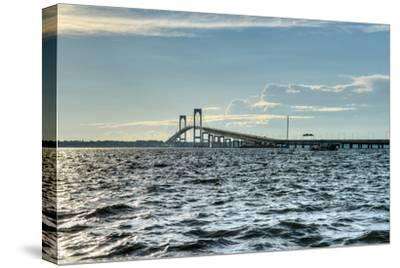 Newport Bridge - Rhode Island-demerzel21-Stretched Canvas Print