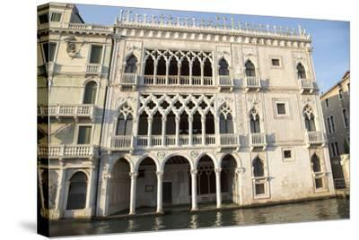 Facade of Ca D'oro Palace-Teodora_D-Stretched Canvas Print