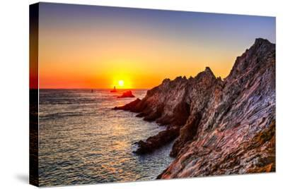 Sunset at the End of the World-RazvanPhotography-Stretched Canvas Print