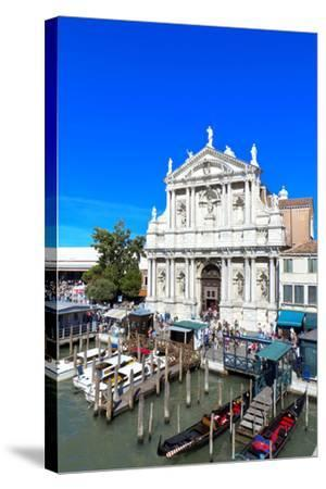 Venice, Italy-lachris77-Stretched Canvas Print