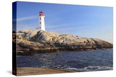 Peggy Cove Lighthouse, Nova Scotia, Canada-vlad_g-Stretched Canvas Print