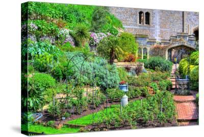 Castle Garden-stanzi11-Stretched Canvas Print