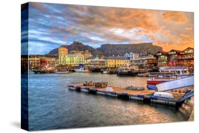 Capetown South Africa-lhboucault-Stretched Canvas Print