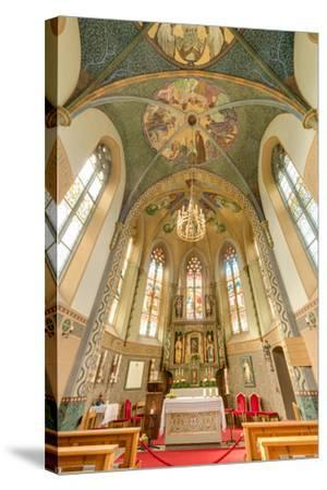 Mariahilf Church in Motz, Austria-Anibal Trejo-Stretched Canvas Print