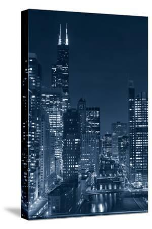 Chicago.-rudi1976-Stretched Canvas Print