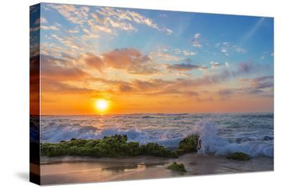 Sandy's Sunrise-Island Leigh-Stretched Canvas Print