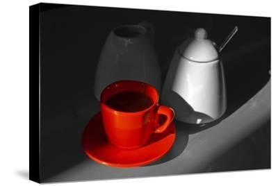 Red Cup of Coffee-jam-design.cz-Stretched Canvas Print
