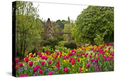 Paris's Parc De Buttes-Chaumont-cec72-Stretched Canvas Print