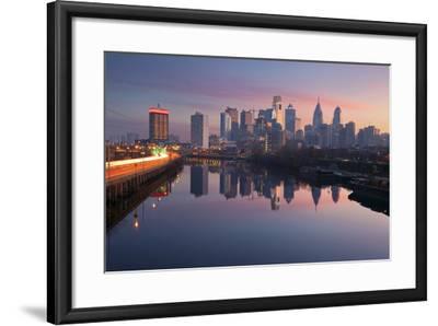 City of Philadelphia.-rudi1976-Framed Premium Photographic Print