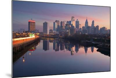 City of Philadelphia.-rudi1976-Mounted Premium Photographic Print