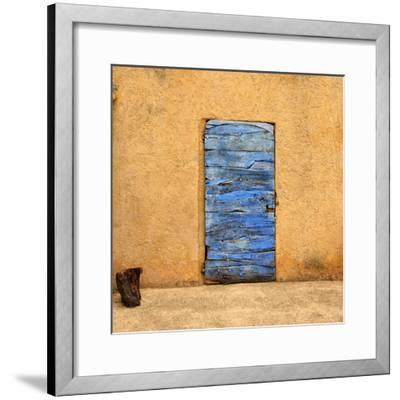 Lavender Door-Oleg Znamenskiy-Framed Premium Photographic Print