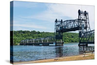 Lift Bridge-Hank Shiffman-Stretched Canvas Print
