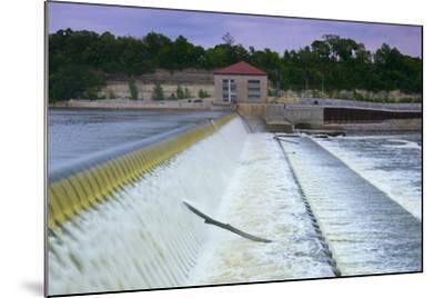 Powerhouse and Dam Spillway-jrferrermn-Mounted Premium Photographic Print