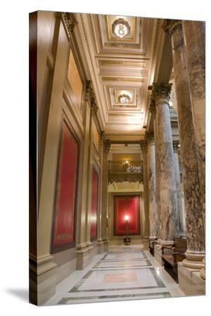 Minnesota Capitol Corridor-jrferrermn-Stretched Canvas Print