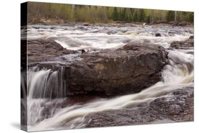 Temperance River-johnsroad7-Stretched Canvas Print