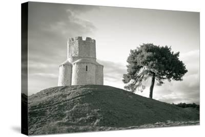 Dalmatian Stone Church on the Hill-xbrchx-Stretched Canvas Print