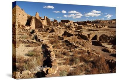 Pueblo Bonito Ruins-Wilsilver-Stretched Canvas Print
