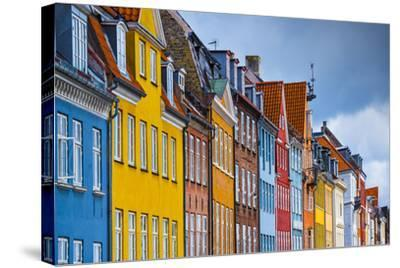Nyhavn Buildings in Copenhagen, Denmark.-SeanPavonePhoto-Stretched Canvas Print
