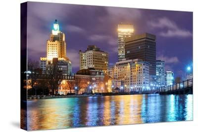 Providence, Rhode Island Was One of the First Cities Established in the United States.-SeanPavonePhoto-Stretched Canvas Print