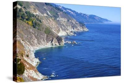 Big Sur Coast, California-robert cicchetti-Stretched Canvas Print