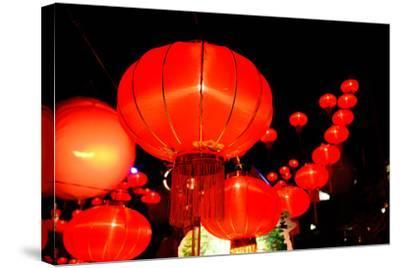 Chinese New Year Festival-bunyarit-Stretched Canvas Print